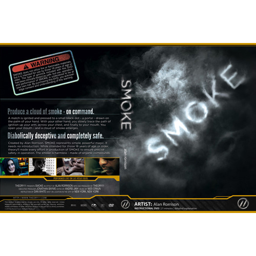 제이엘매직 스모크gimmick+DVD(SMOKE by Alan Rorrison SMOKE)