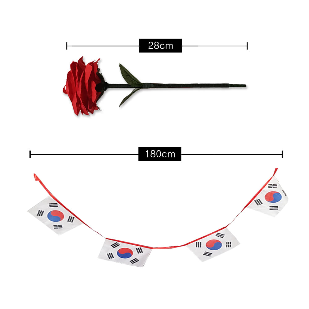 로즈실크투블랜도_태극기(Rose silk to Blendo _ The National Flag Of Korea)로즈실크투블랜도_태극기(Rose silk to Blendo _ The National Flag Of Korea)