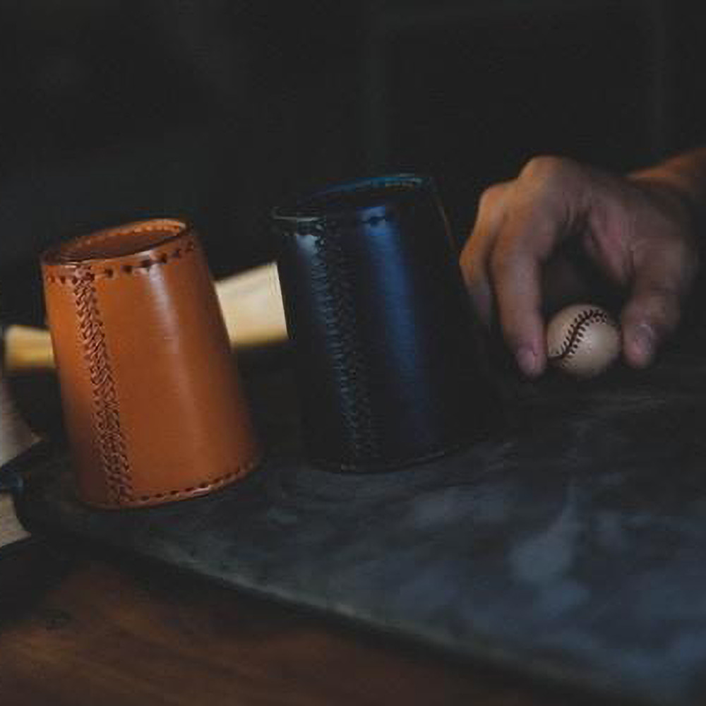 Leather Chop Cup By TCCLeather Chop Cup By TCC