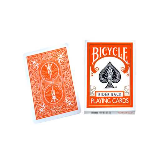 제이엘매직 바이시클카드_오렌지(Bicycle Poker Deck _Orange Deck)_by Di Fatta and USPCC