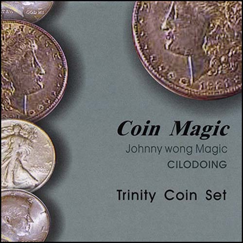 제이엘매직 트리니티코인세트(Trinity Coin Set (with DVD) by Johnny Wong)