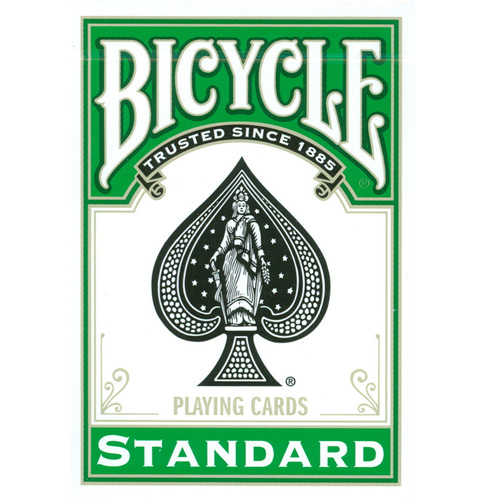 제이엘매직 바이시클카드_그린(Bicycle Poker Deck _Green Deck_by Di Fatta and USPCC )