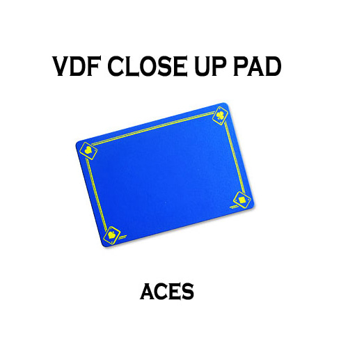 제이엘매직 VDF클로즈업패드(ACE그림)-블루(VDF Close Up Pad with Aces - Standard size - Blue )