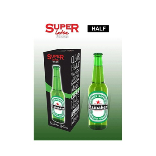 슈퍼라텍스그린비어보틀(하프)(Super Latex Green Beer Bottle (Half) by Twister Magic)