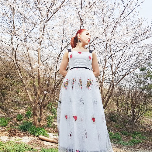 킹하트롱드레스(King Heart Long Dress)