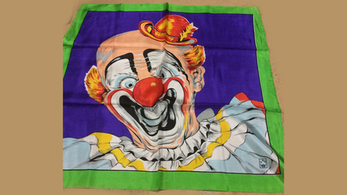 "Rice Picture Silk 27"" (Circus Clown) by Silk King Studios - Trick"