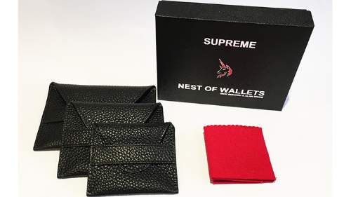 Supreme Nest of Wallets*** (AKA Nest of Wallets V2) by Nick Einhorn and Alan WongSupreme Nest of Wallets*** (AKA Nest of Wallets V2) by Nick Einhorn and Alan Wong