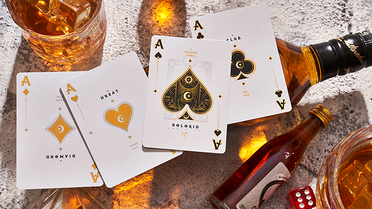 Solokid Gold Edition Playing Cards by Bocopo
