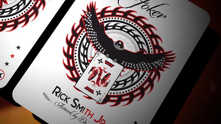 Falcon Razor Throwing Cards (Foil) by Rick Smith Jr. and De'vo