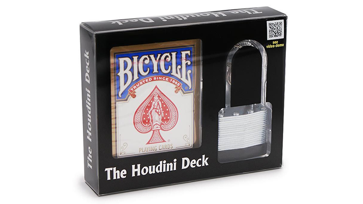 The Houdini Deck by Vincenzo Di Fatta - Trick