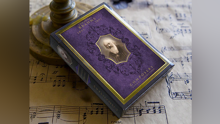 Johannes Brahms (Composers) Playing Cards