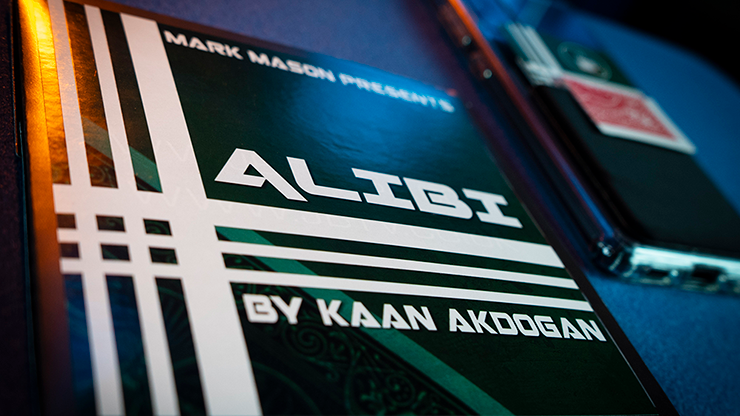 Alibi Red (Gimmicks and Online Instructions) by Kaan Akdogan and Mark Mason - Trick