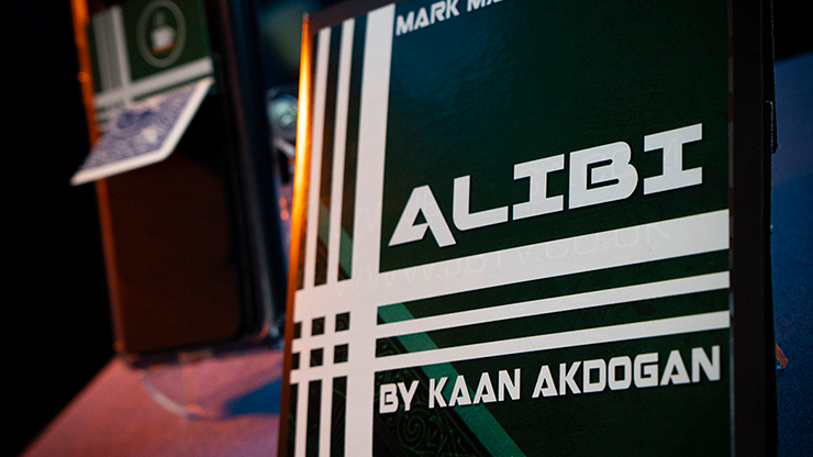 Alibi Blue (Gimmicks and Online Instructions) by Kaan Akdogan and Mark Mason - Trick
