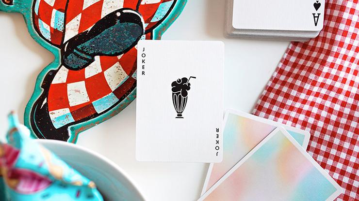 NOC Diner (Milkshake) Playing Cards