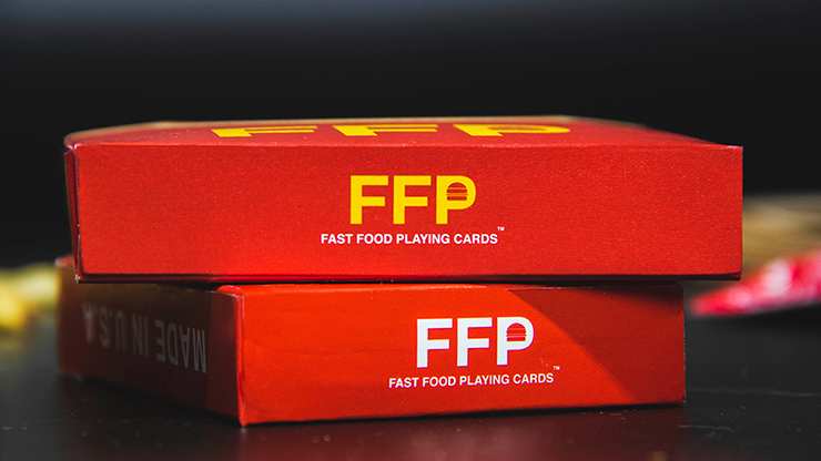 Ketchup and Fries Combo (1/2 Brick) Playing Cards by Fast Food Playing Cards